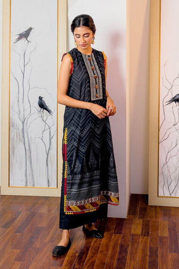 Ciara Cambric by Cross Stitch – EBONY FREESIA (SS-645) - Sale - Original