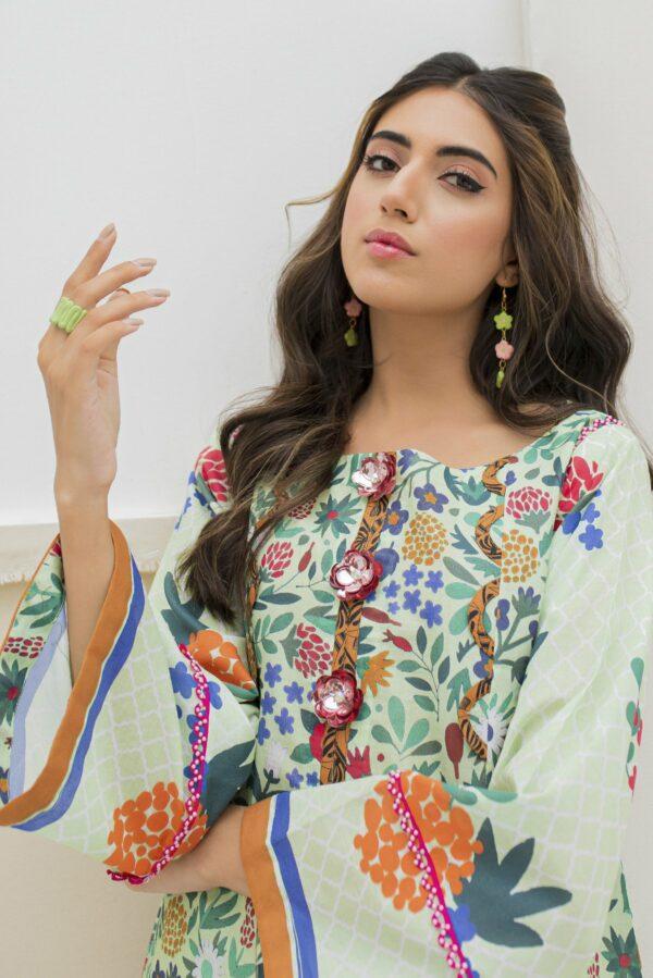 BTW Unstitched Designer Lawn Kurti – Arsenic Low Range Pakistani Suits & Kurtis
