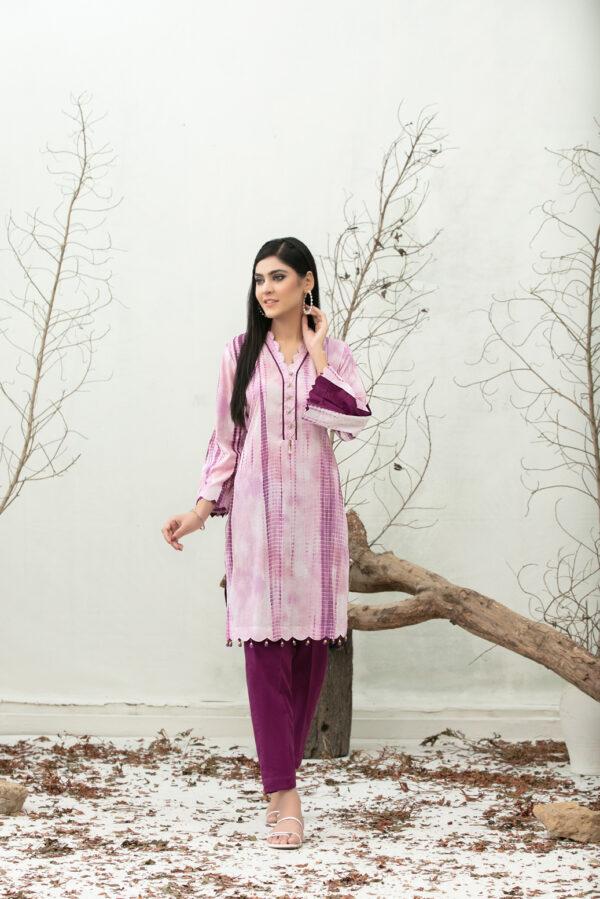 Tie & Dye Malhun by Tawakkal – D -1840 Low Range Pakistani Suits & Kurtis
