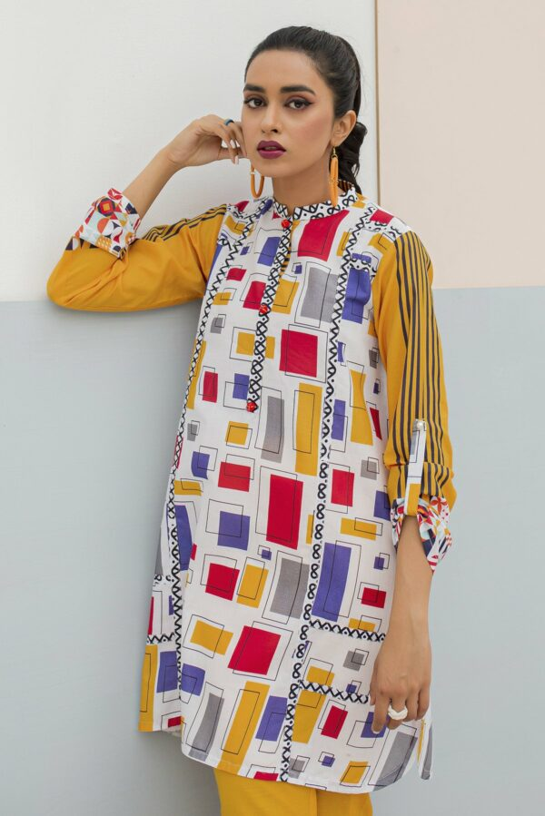 BTW Unstitched Designer Lawn Kurti – Butter Up Low Range Pakistani Suits & Kurtis