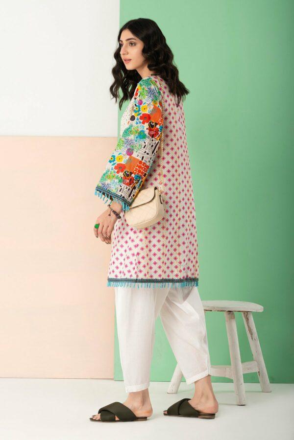 BTW Unstitched Designer Lawn Kurti – Flouriculture Low Range Pakistani Suits & Kurtis