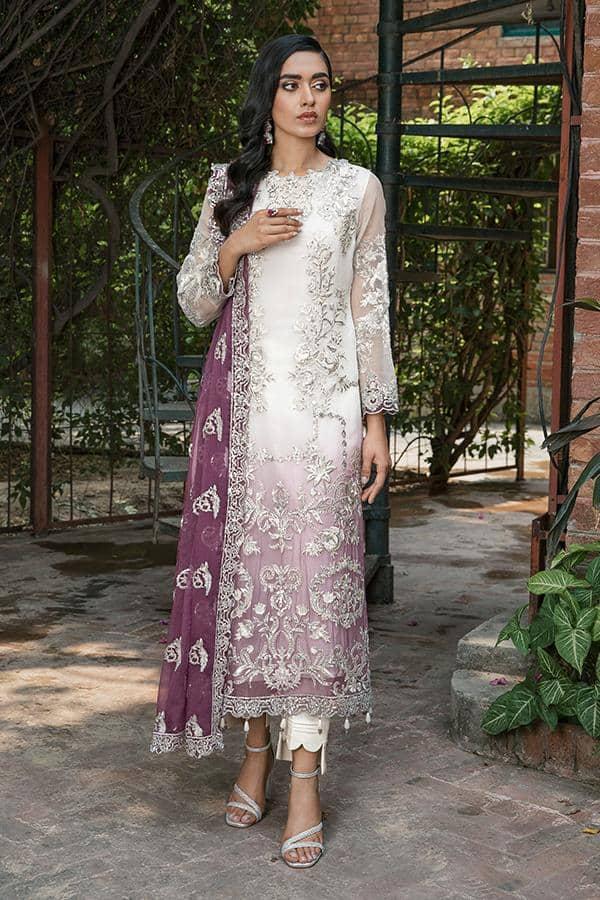Sooraj Garh Chiffon Collection by Imrozia –  I-145 Ambreeen Ready to Ship