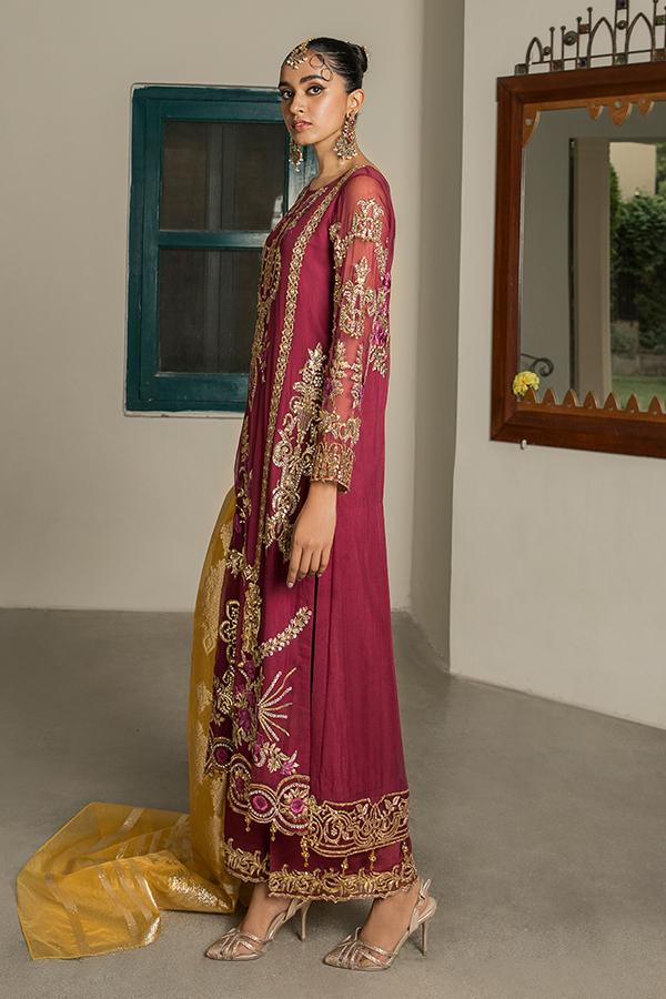 Sooraj Garh Chiffon Collection by Imrozia –  I-144 Roshina Ready to Ship