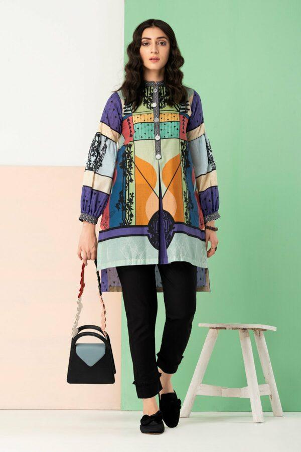 BTW Unstitched Designer Lawn Kurti – Botanican Low Range Pakistani Suits & Kurtis