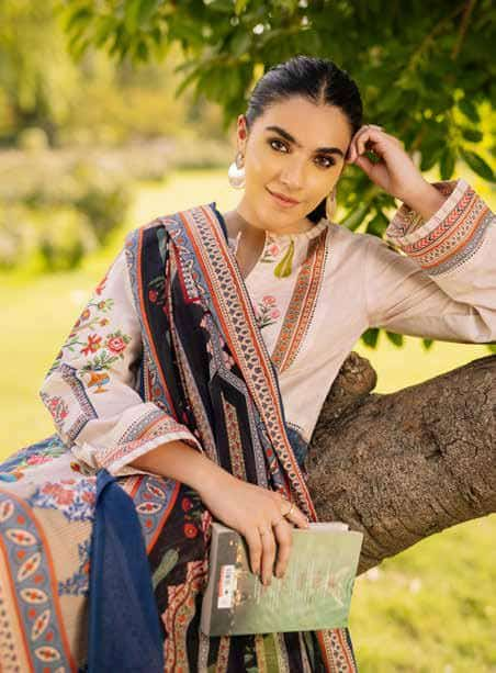 Gul Ahmed Pre-Winter 2021 –  TCE12006 - Sold out