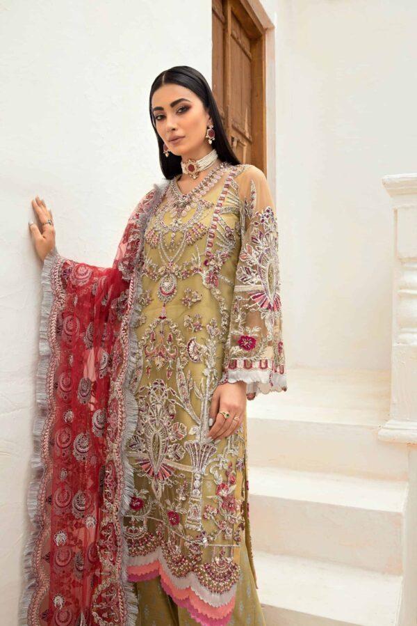 Maryam Hussain Marwa Festive 2021 – MFC2-04 (SS-711) - Sale - Original
