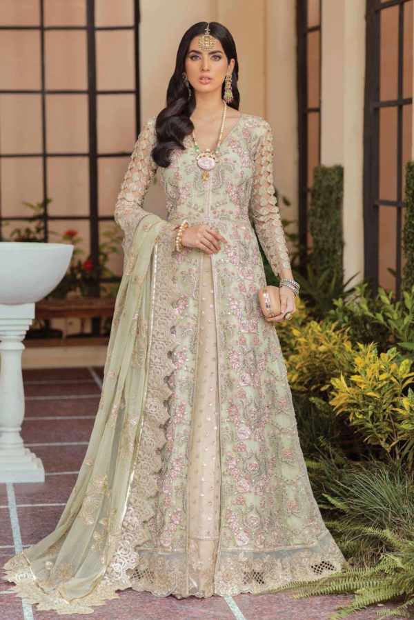 Soiree Premium Embroidered 2021 – Olive Moss (S-1031) Ready to Ship