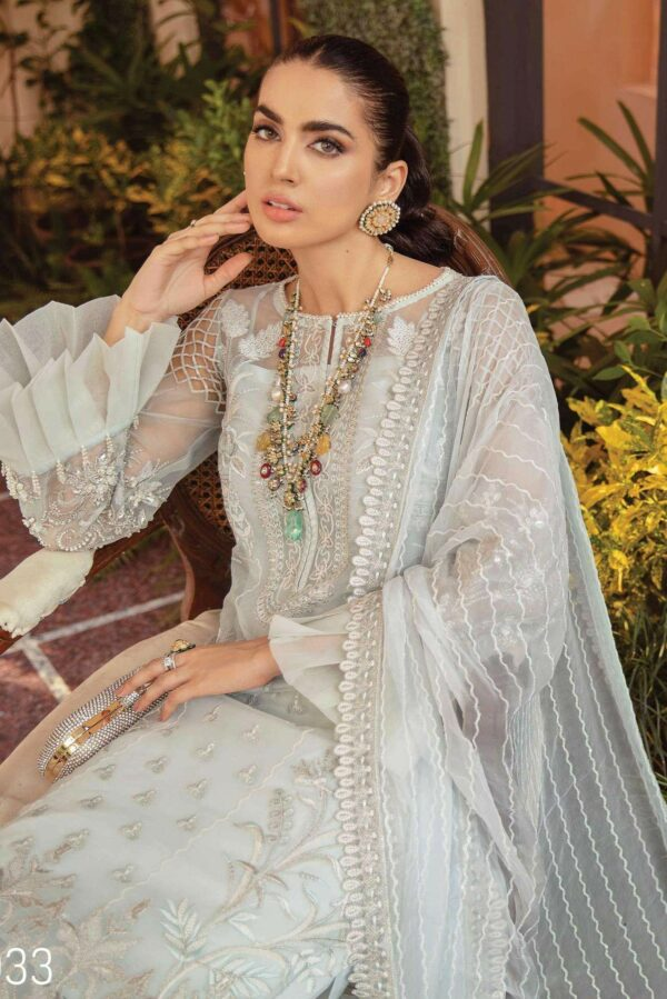 Soiree Premium Embroidered 2021 – Moon Light (S-1033) Ready to Ship