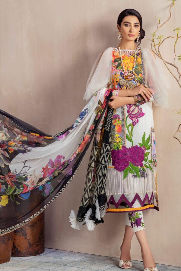 Bella Cambric by Asifa & Nabeel – DANDELION CB-1B Bella Cambric by Asifa & Nabeel - Original