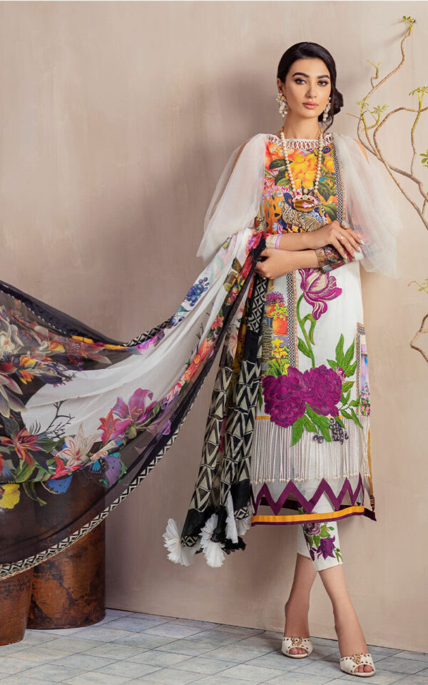 Bella Cambric by Asifa & Nabeel – DANDELION CB-1B – RESTOCKED Bella Cambric by Asifa & Nabeel - Original