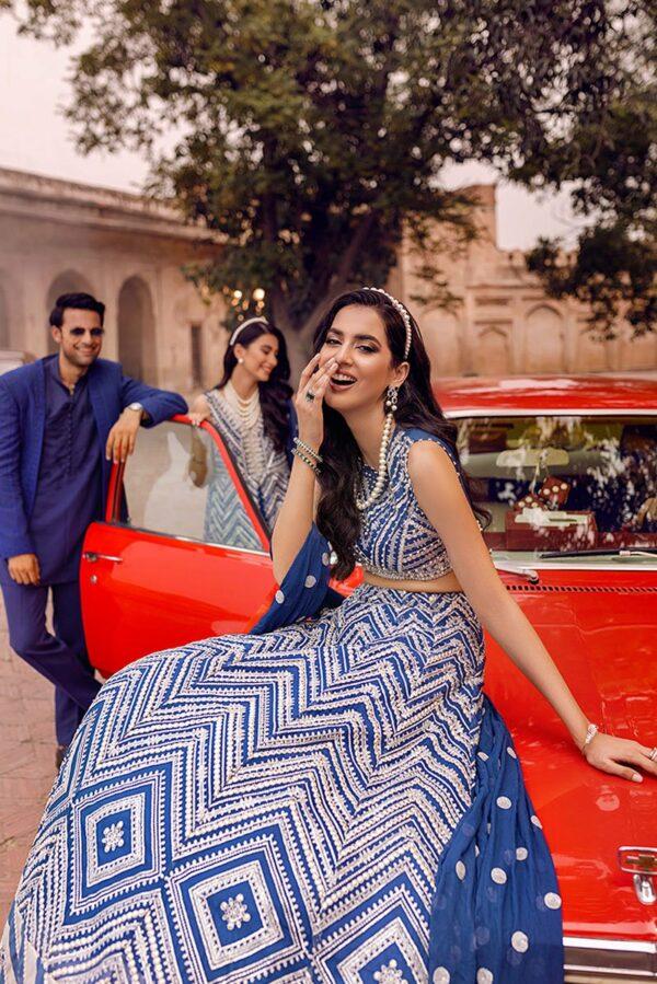 Tissue De Luxe Hawa Mahal by Mushq – SDL21-08 Pakistani Suits