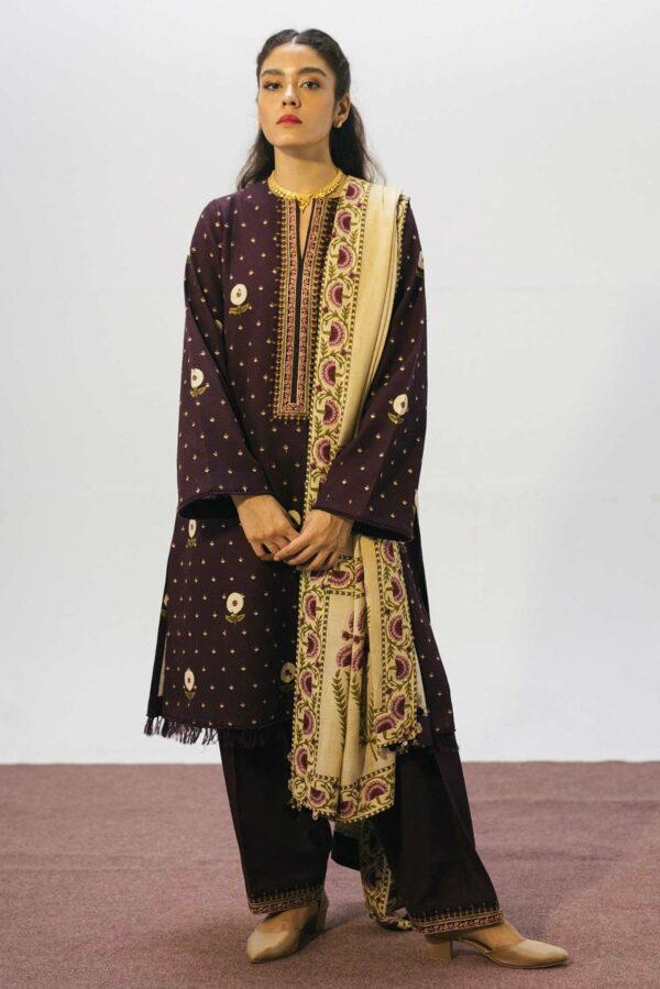 Zara Shahjahan Coco Winter Collection 2020 – 6B (SS-329) - Sale - Original
