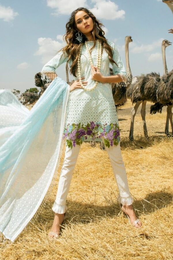 Sana Safinaz Lawn Collection 2018 – 05B (SS-312) - Recently Restocked
