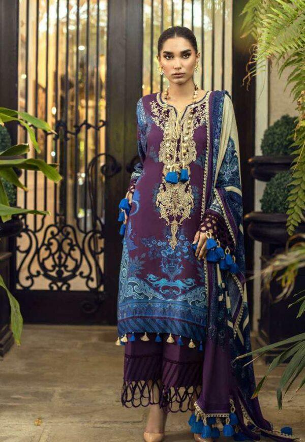 Sana Safinaz Muzlin Winter 2021 – 5B Pakistani Suits
