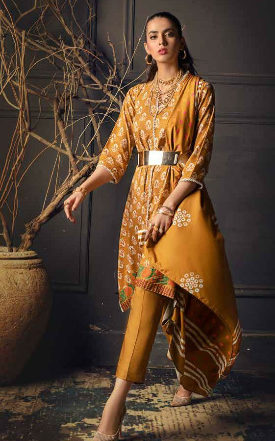 Gul Ahmed Winter Collection 2021 – LT12038 Gul Ahmed Winter Collection 2021
