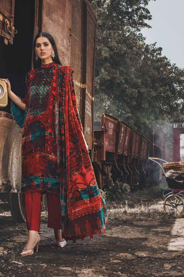 Gul Ahmed Winter Collection 2021 – BVL12005B Gul Ahmed Winter Collection 2021 - Original